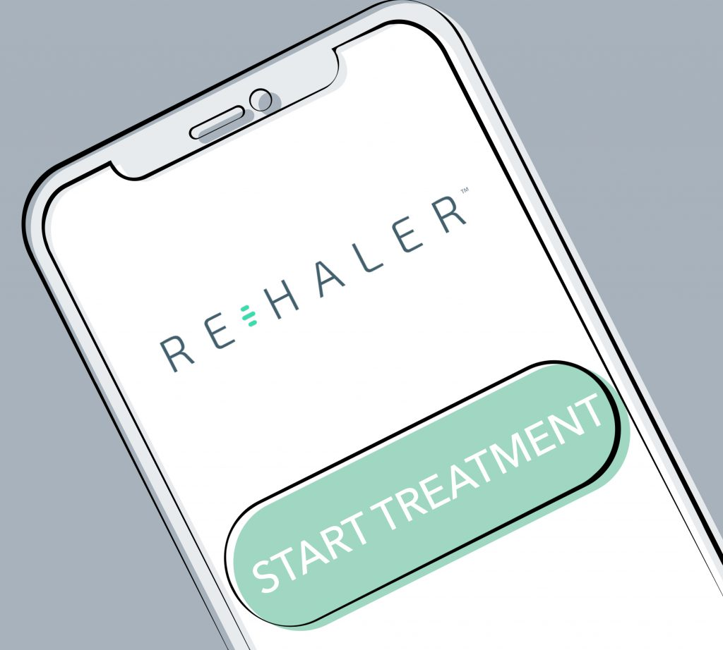 Rehaler App - Start Treatment